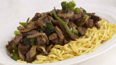 Beef and Vegetable Noodle Stir Fry