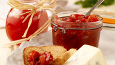 Red Cherry Tomato and Thyme Chutney