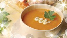 Roasted Carrot and Garlic Soup
