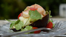 Prawn Melon Avocado Salad