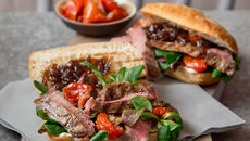 Balsamic Steak Sandwich Recipe