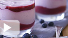 Yogurt, Apple and Blueberry Compote Fool