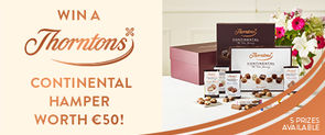 Win a Thorntons Continental Hamper worth €50 with SuperValu