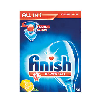 Finish All in One Tablets Lemon 56pce