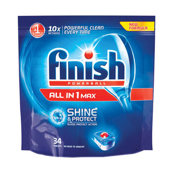 Finish max shine