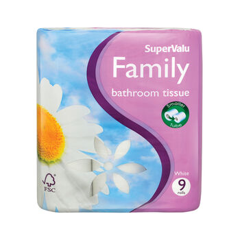 Supervalu bathroom tissue