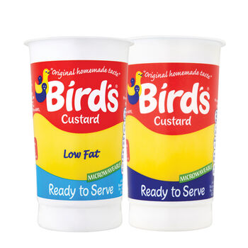 Birds custard range