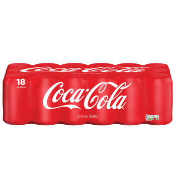 Coke can 18pack
