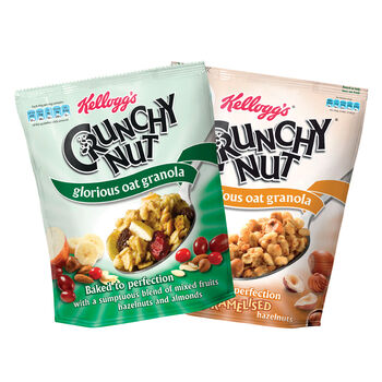 Crunchy nut packs