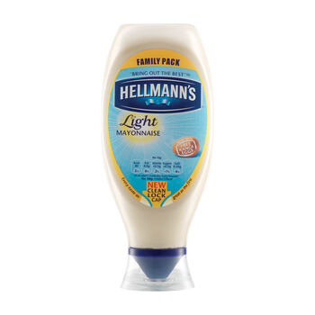 Hellmanns light mayonnaise