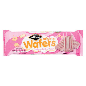 Jacobs pink wafers