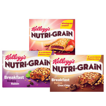 Kelloggs nutri grain bars