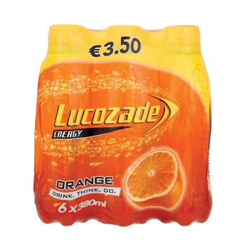 Lucozade orange 6pack