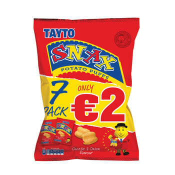 Tayto snax7pack