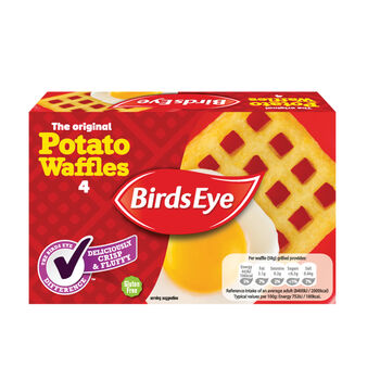 Birds eye waffles