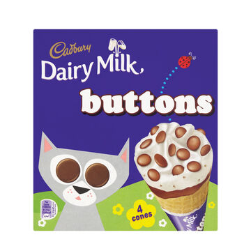 Dairy Milk Buttons Icecream