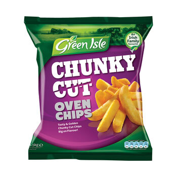 Green isle oven chips