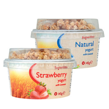 supervalu granola yogurt