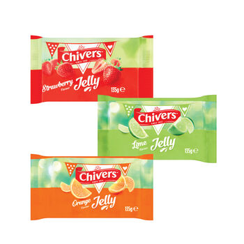 Chivers jelly range