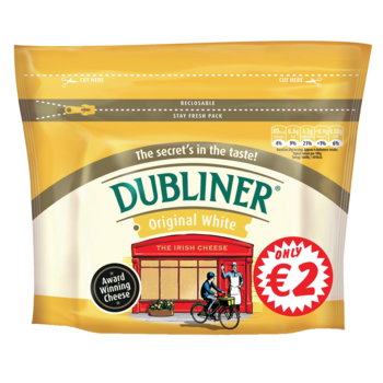 Dubliner original white block