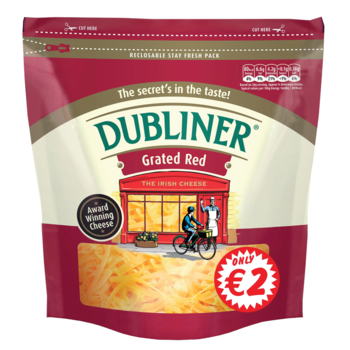 Dubliner red grated