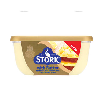 Stork with butter