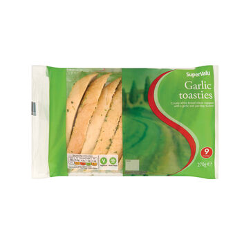 Supervalu garlic toasties
