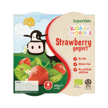Supervalu kiddies organics yogurts