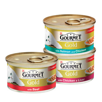 Gourmet Cat Food Range
