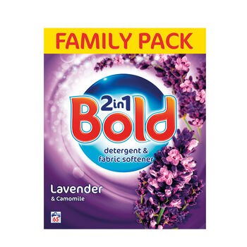 Bold 2in1 Powder Lavender   Camomile 65 Wash