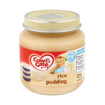 Cow Gate Rice Pudding