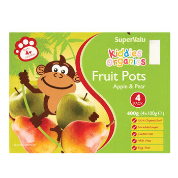Apple pear fruit pots