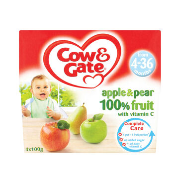 Cow gate fruit pots apple pear