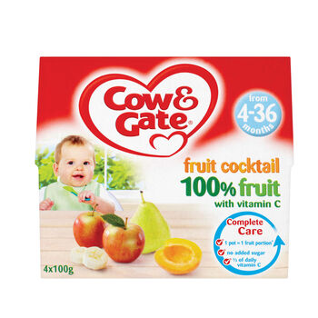 Cow gate fruit pots fruit cocktail