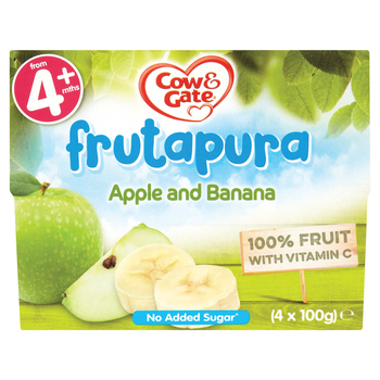 Frutapura apple banana