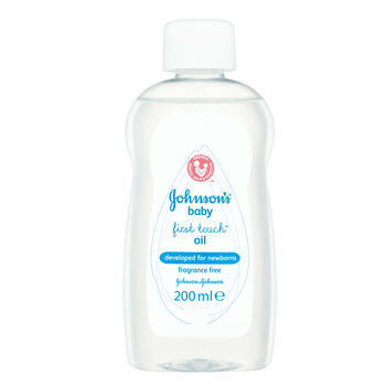 Johnsons baby first touch oil