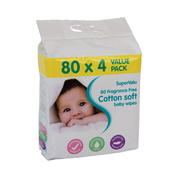 Supervalu Non Fragrance Wipes
