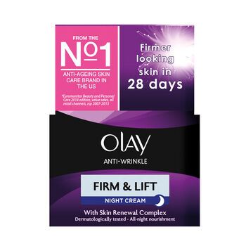 Olay antiwrinkle firm lift night cream