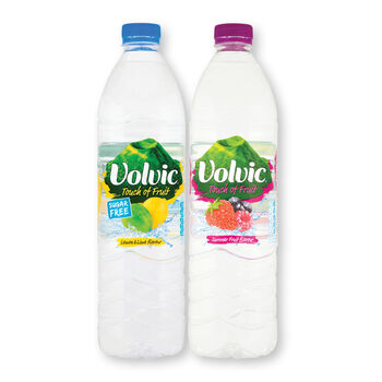 Volvic flavoured water