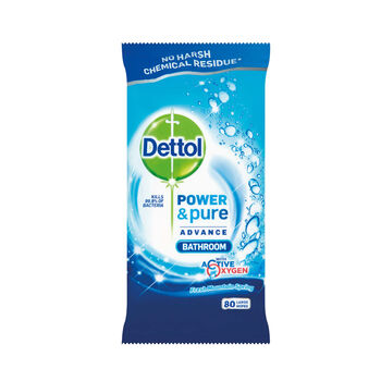 Dettol power pure bathroom