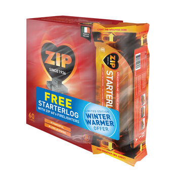 Zip firelighters plus free