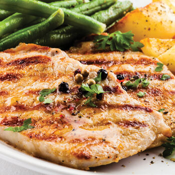 Turkey steaks