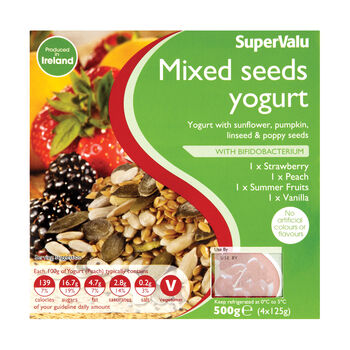 Supervalu mixed seeds yogurt