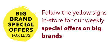 Big Brand Special Offers