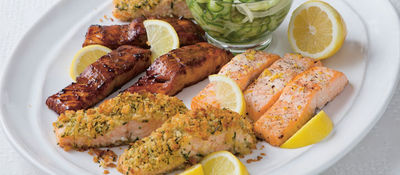 Honey, Ginger and Soy Salmon