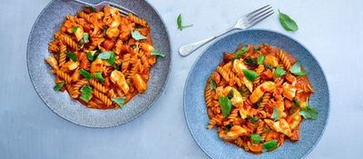 Chicken chorizo pasta recipe