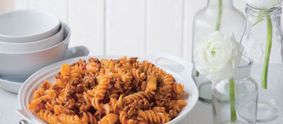 Kids Quick Bolognese Sauce with Pasta