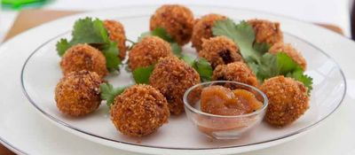 Goats cheese croquettes
