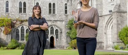 UCC Microbiology Student Meghana Srinivas Scoops SuperValu Award for Excellence in Food