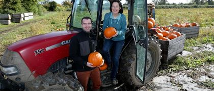 SuperValu Pumpkin Supplier Denise Buckley